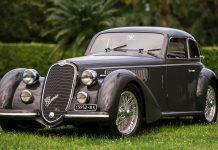 1939 Alfa Romeo 8C 2900 B LungoSpider