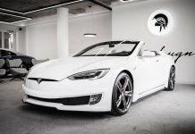 Tesla Model S Cabrio Ares Design'dan