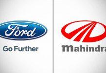 ford ve mahindra logo