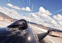 Elektrikli Uçan Yarış Arabası