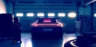 Porsche 911 GT3 teaser