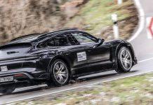 Porsche Taycan Cross Turismo Wagon