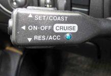 cruise control çalışmıyor