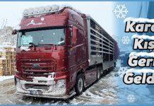 Kamyon Sürücüleri için Kış Sürüşü İpuçları