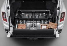 Rolls-Royce Cullinan'ın Bagajı