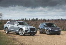 Bentley Bentayga Range Rover
