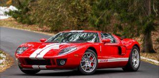 Ford GT 2005 Kırmızı