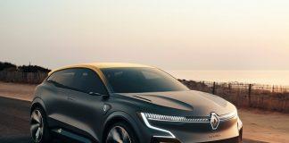 Renault Megane eVision Concept Hız Sınırı