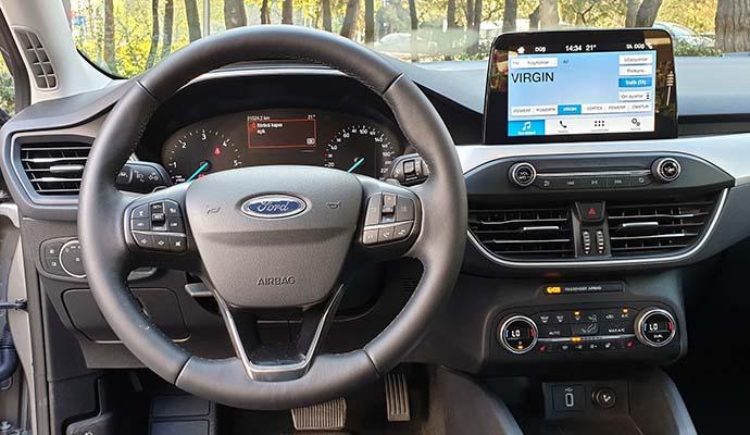 Ford Focus ön Konsol