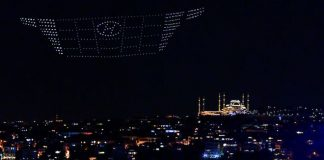 Hyundai Tucson Silüeti Gökyüzünde