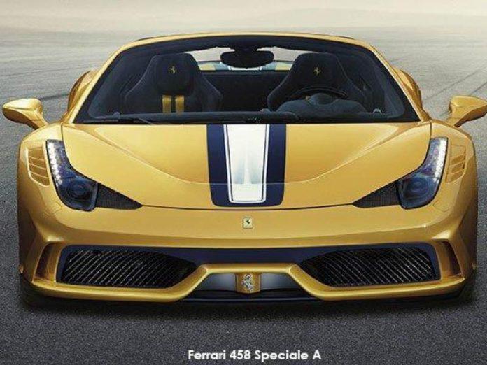 Ferrari 458 Speciale A   Ödüllü V8