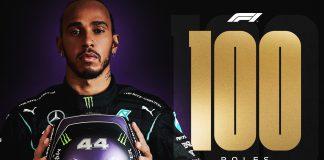 Hamilton 100. Pole