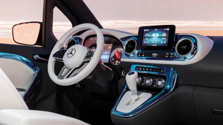 Mercedes benz eqt kokpit