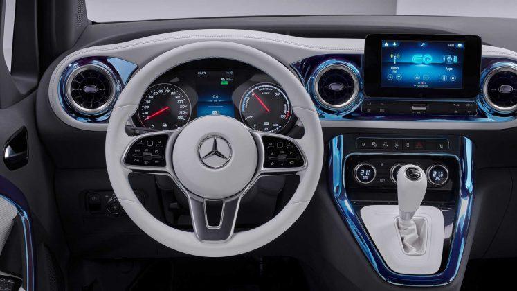 Mercedes benz eqt kabin