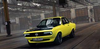 Opel Manta'nın Elektrikli Konsepti