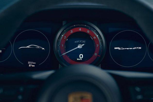 911 GTS kadran
