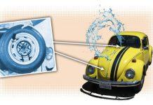 Volkswagen Beetle Cam Silecekleri
