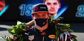 British GP Sprint Yarış Max Verstappen