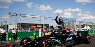 Macaristan GP Sıralama TurlarıHamilton Pole