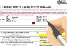 kaza tespit tutanağı nedir ne işe yarar