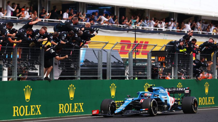 Formula 1 Macaristan GP 2021 Esteban Ocon