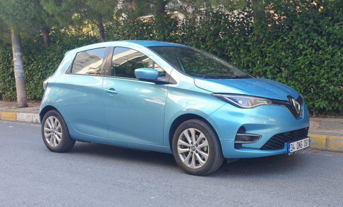 Renault ZOE Mavi