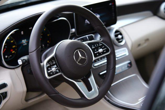 Mercedes Benz C200d test