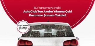auto club çekiliş